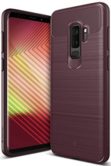 new style b2ca0 d6a34 Caseology Vault for Galaxy S9 Plus Case (2018) - Rugged Matte Finish -  Burgundy