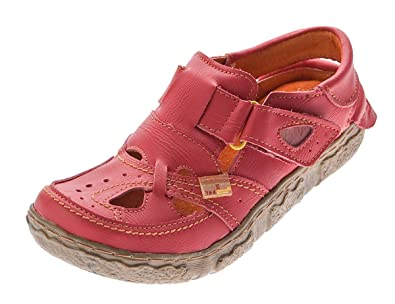 TMA Leder Damen Sandalen Echtleder Grün Comfort Sandaletten TMA 7088 Halb Schuhe Gr. 39 ZX5u43v