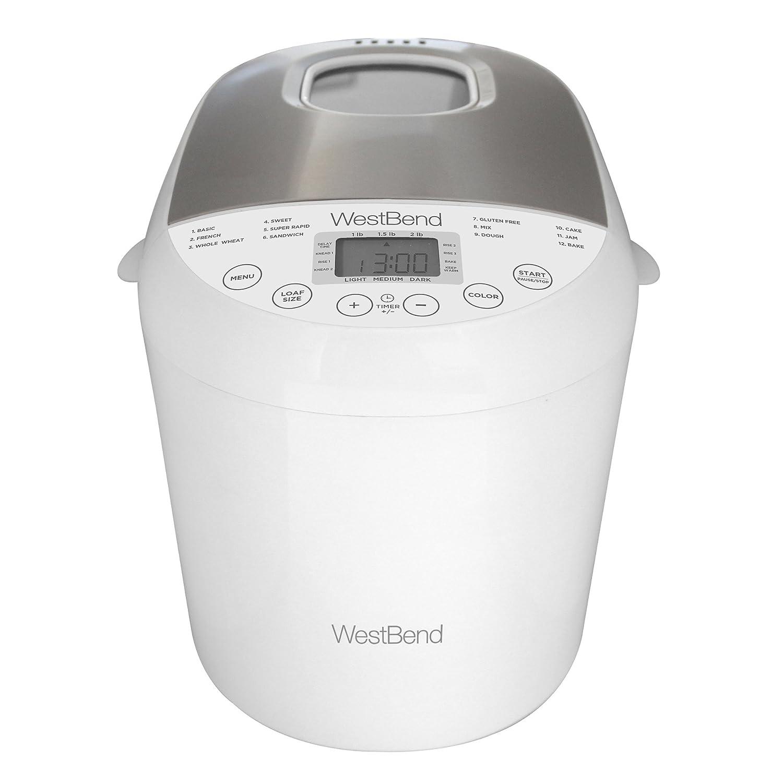 Amazon.com: westbend 47410 West Bend Hi-Rise 2lb Pan Maker ...