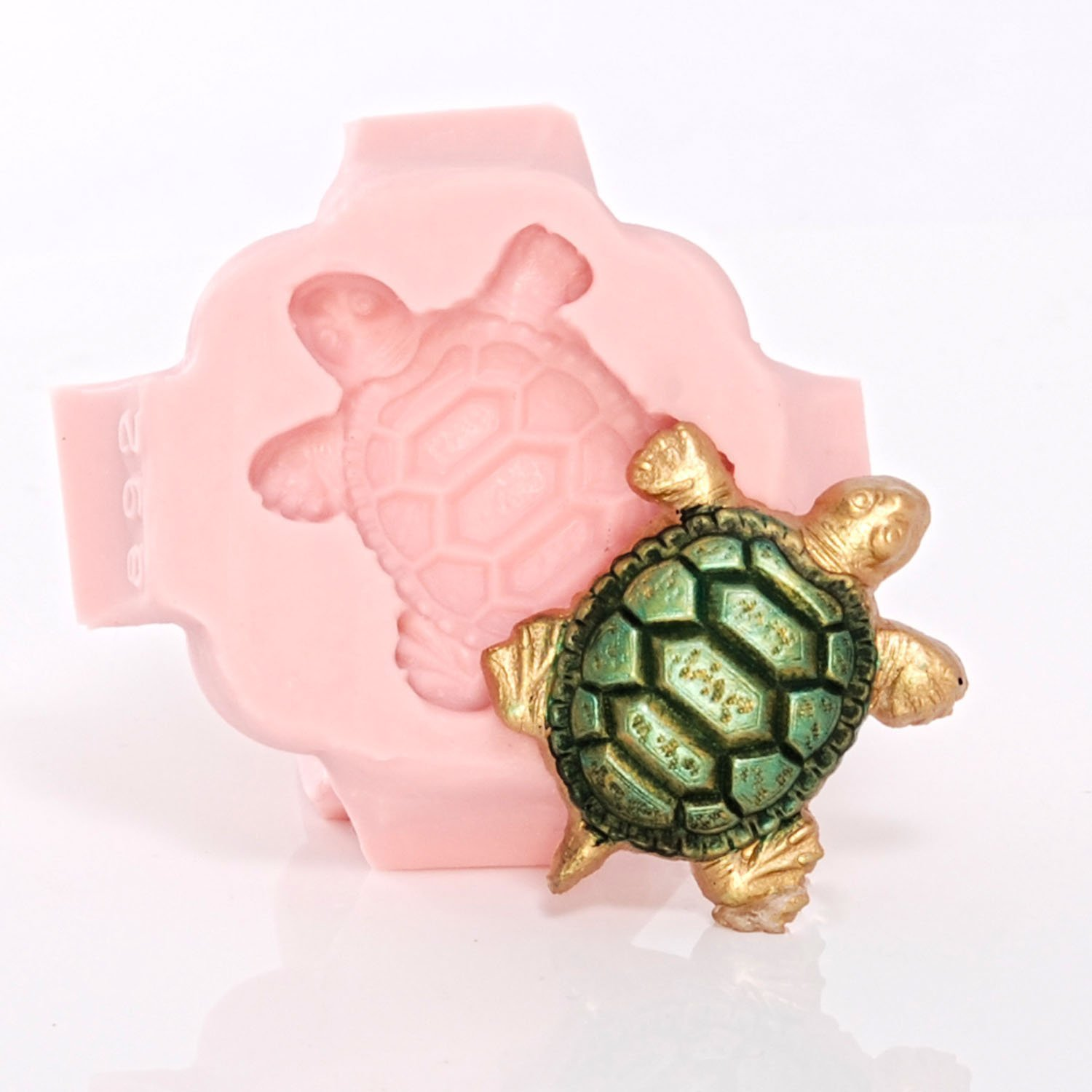Sea Turtle Silicone Mold Food Safe Candy Chocolate Fondant Mold Craft Jewelry Resin Polymer Clay Mold