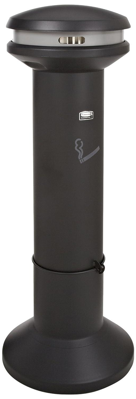 Rubbermaid Commercial Products FG9W3400BLA Infinity Ash Bin pour Cigarettes 25, 4 l Noir Newell Rubbermaid COURCP9W34BLA
