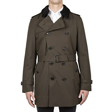 Homme 4023990 Coat Vêtements Coton Burberry Trench Vert fdwfqF 43985ccd331