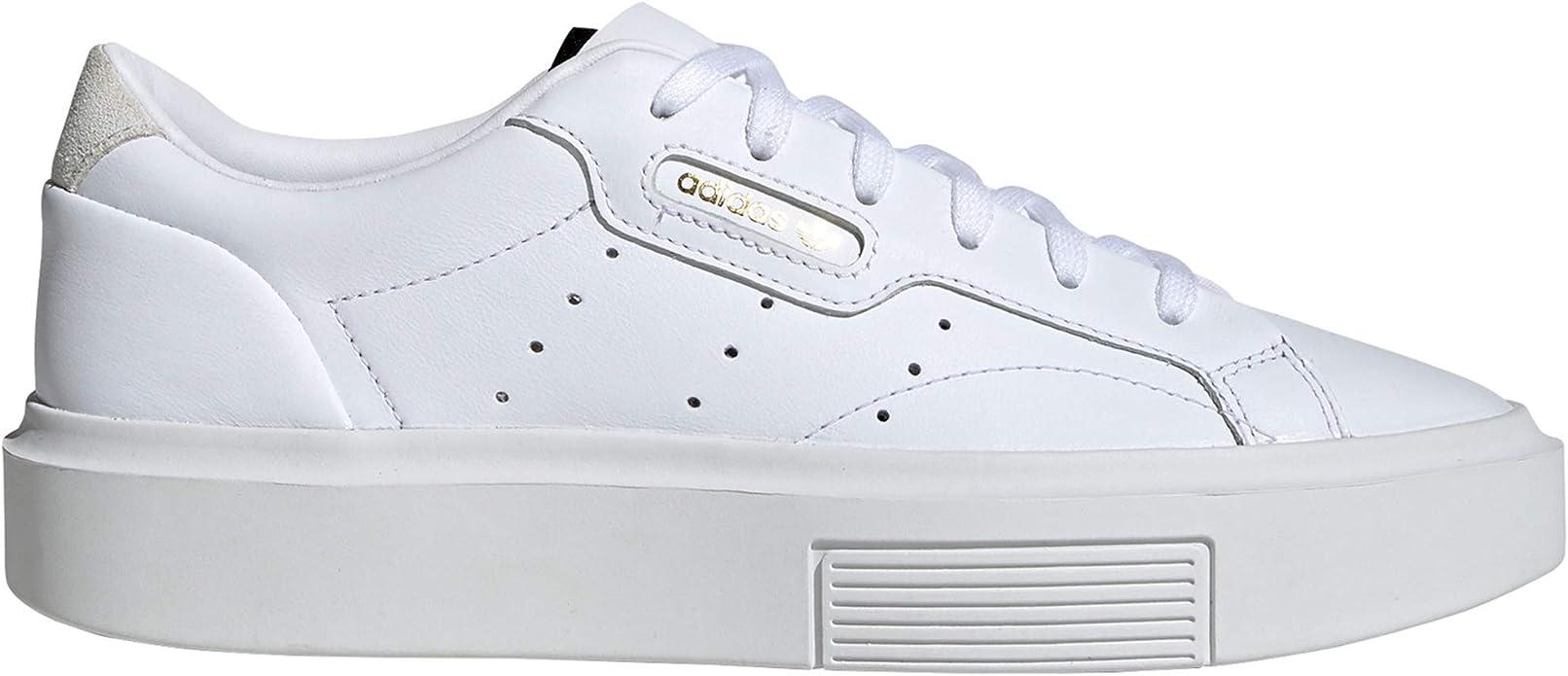 adidas Sleek Blancas y Rosas, Zapatillas Deportivas para ...