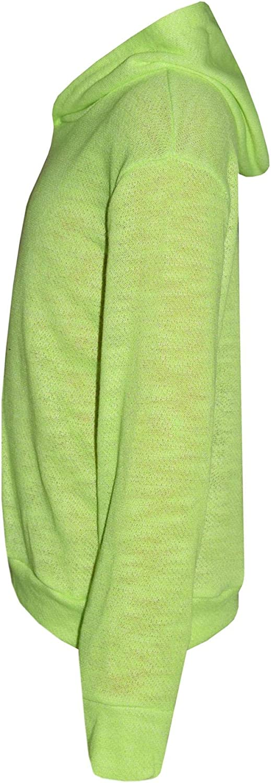 Kids Girls Tracksuit Plain Hooded Top Fashion Legging Set Lounge Suit 7-13 Years