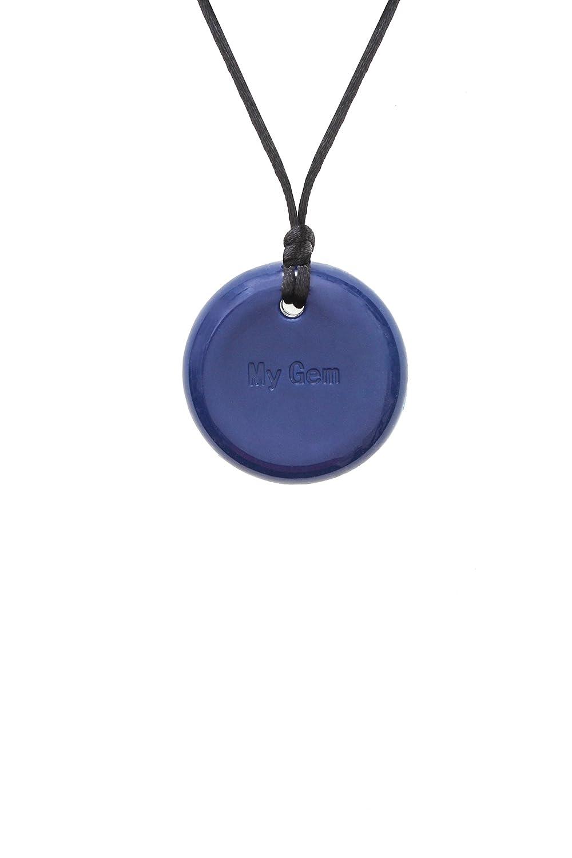 Chewigem sensoriale Button collana/ /Fidget giocattolo per macinare/ /autismo