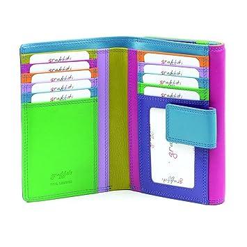 größte Auswahl an Vielzahl von Designs und Farben meistverkauft Golunski 7-125, Golunski Leder bunte Geldbörse, Portemonnaie ...