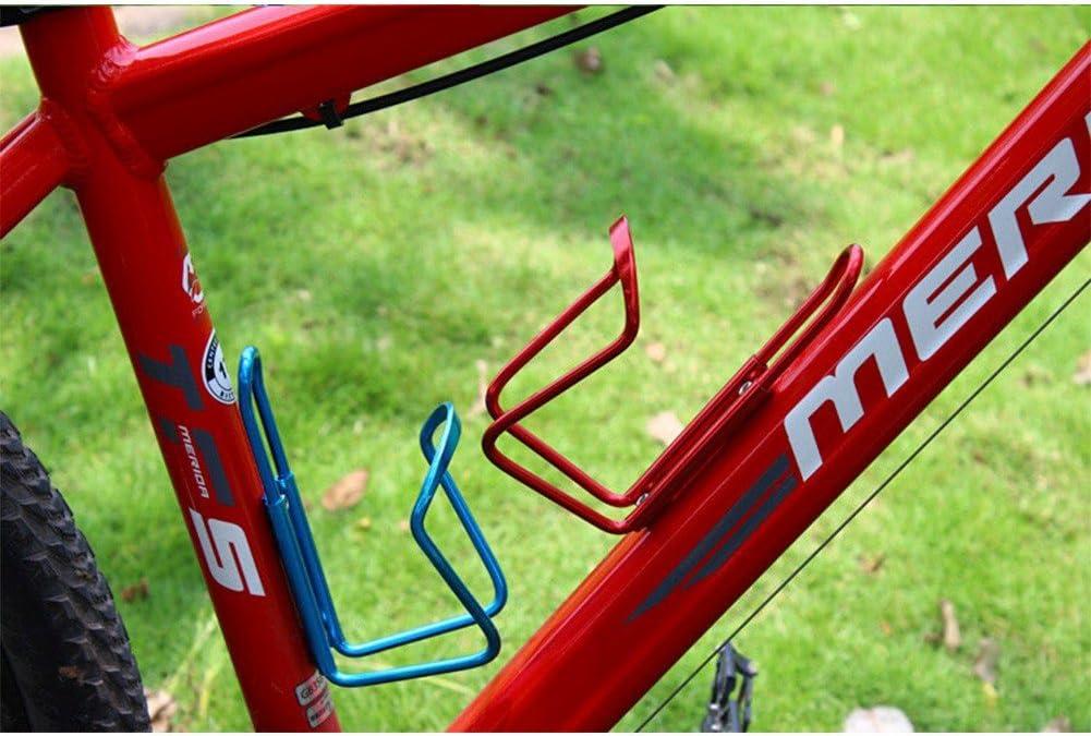 YiZYiF 2 pcs puerta bidones soporte botella aluminio para bicicleta montaña bicicleta Ciclismo portabidón para bicicleta, rojo, 7 x 5 x 14 cm: Amazon.es: Deportes y aire libre