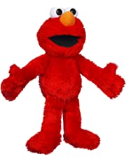 SESAME STREET Playskool Sesame Street Let's Cuddle Elmo Plush Figure
