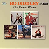 Five Classic Albums (Bo Diddley/Go Bo Diddley/Have Guitar Will Travel/Bo Diddley Is A Gunslinger/Bo Diddley Is A Lover)