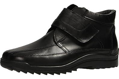 Chaussures Waldläufer Kai noires homme 4Ab49d