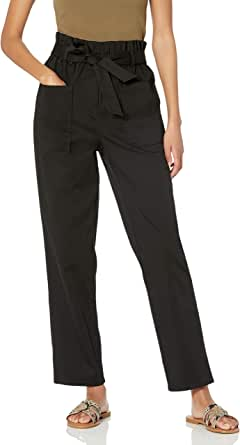 The Drop Women's Pamela Pull-On Belted Pant