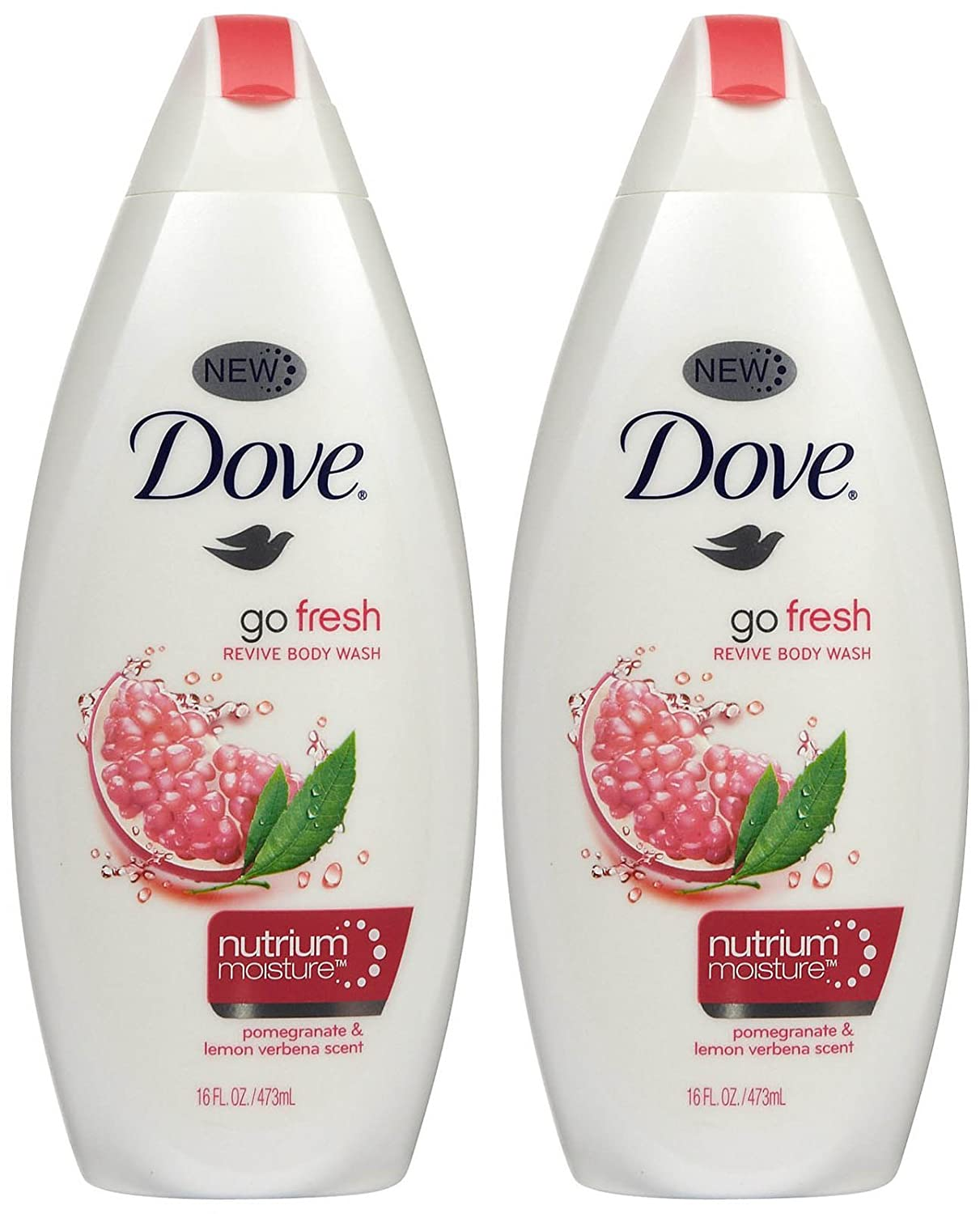 Dove Go Fresh Body Wash, Revive, 16 oz
