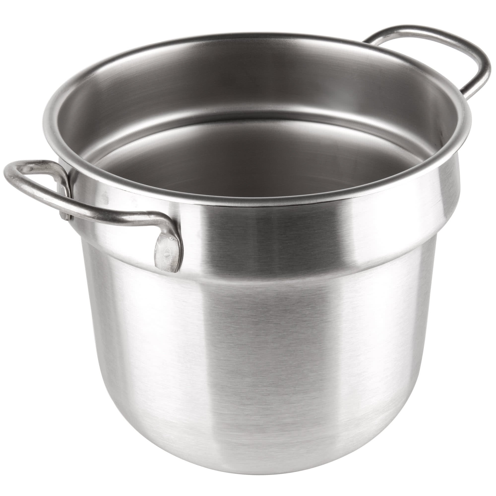 Tabletop king 77073 7 Qt. Stainless Steel Double Boiler Inset - Round Bottom