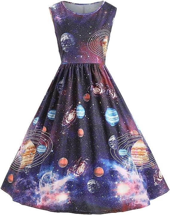 Charmma Damen A Linie Kleid Gr Medium Colormix Amazon De Bekleidung