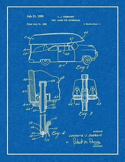 Amazon com: Boat Loader for Automobiles Patent Print