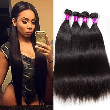 Amazon.com   Tinashe 10A Brazilian Straight Hair Bundles Virgin Human Hair  Extensions Sale Christmas Gift for Black Women (28 28 28 28)   Beauty b04e8b7aec