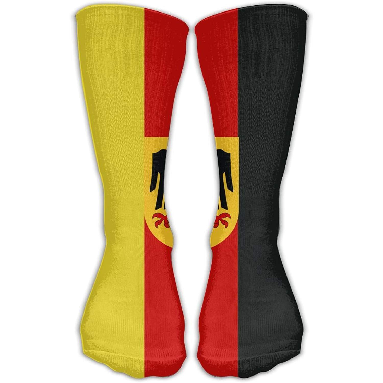 German Flag With The German Eagle Unisex Novelty Crew Socks Sport Athletic Socks 50cm shower curtain doormat