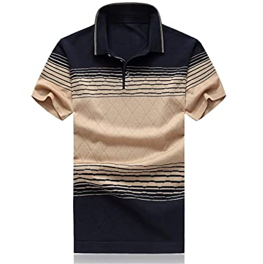 Image Unavailable. Image not available for. Color  Carolyn Jones Polo Plus  Size Men Polo Shirt Solid Color Short-Sleeve Slim Fit Shirt 7e1030a7c6f13
