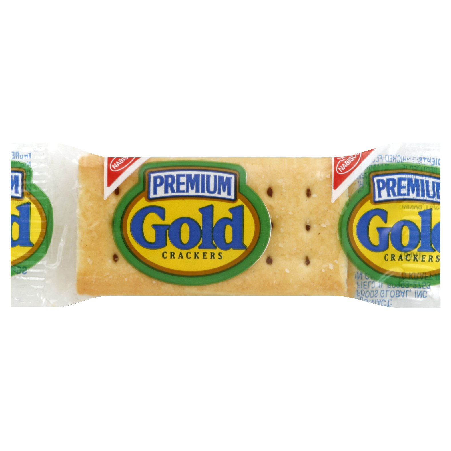 Premium Gold Saltines Crackers, 0.22 Ounce (Pack of 400) by Nabisco