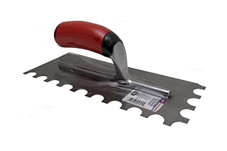 "TROWEL Ditra style 3//16/"" x 3//16/""  Square Notch Rubi Tools"