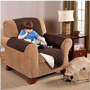 Zercing - Funda de sofá para Perro, Alfombrilla para Mascotas, Manta de Gato, Funda de sofá, Protector de Muebles Cama, café, Armchair: Amazon.es: Hogar