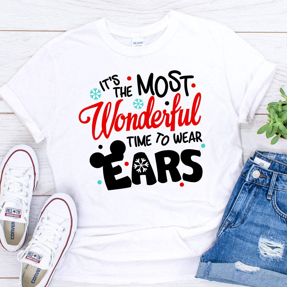 Disney Christmas Shirts.Amazon Com Disney Christmas T Shirts Matching Vacation