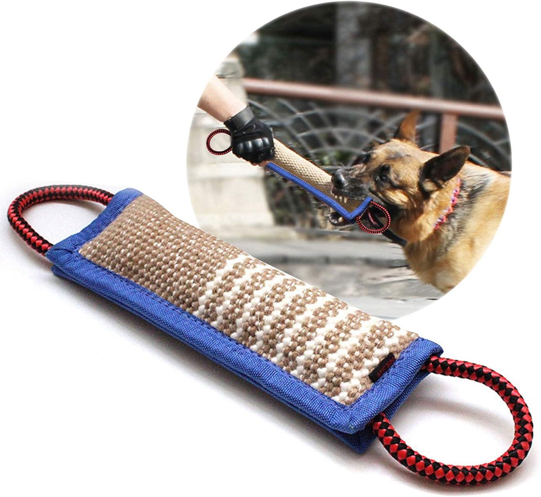 onebarleycorn – mordedor Perro, con Dos Asas, 30 cm - Embutido de Manguera, K9 Dummy y motivador canino Resistente y Duradero - Juguetes para Perros de Entrenamiento
