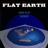 Flat Earth Digital 3D Clock