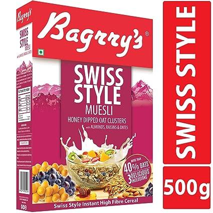 Bagrrys Swiss Style Muesli, 500g