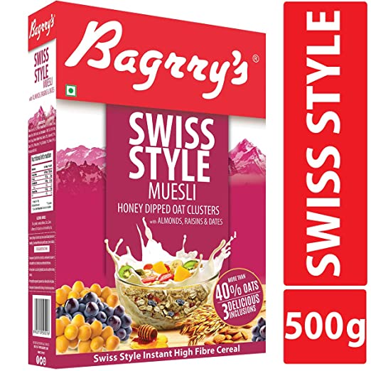 Bagrry's Swiss Style Museli, 500 GM