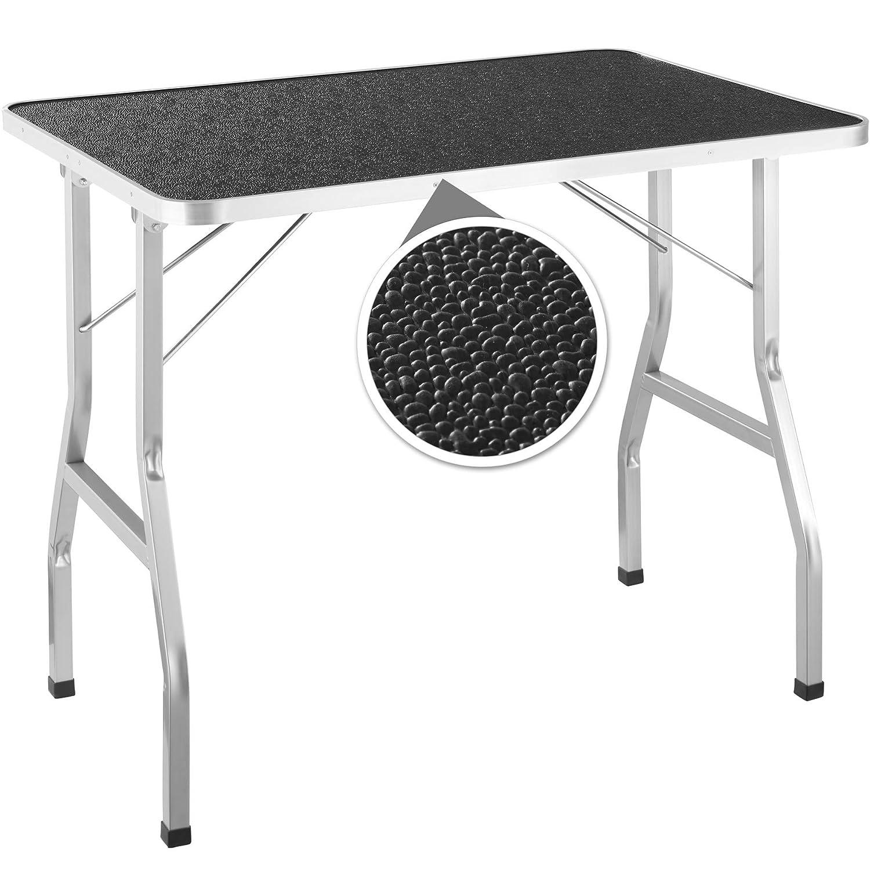 TecTake 402893 - - - Tavolo da Toelettatura con 2 Lacci, Acciaio Stabile Robusto, per Cani Gatti Animali Domestici fc2c24