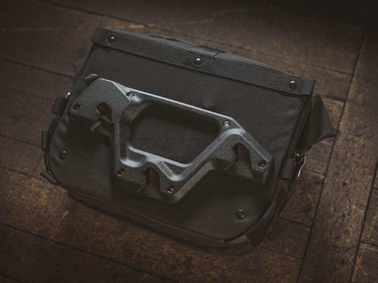 Sw Motech Legend Gear Seitentasche Lc1 9 8 L Für Slc Seitenträger Links Auto