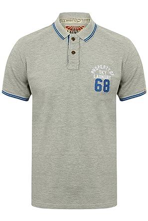 12b9f554fdd0f Tokyo Laundry Mens Designer Esko Springs Pique Cotton Polo Shirt ...