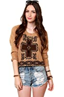 Obey Mystic Spirit Women's Brown Sweatshirt