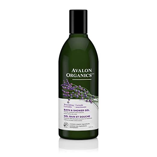 Avalon Organics Nourishing Lavender Bath & Shower Gel, 12 oz.
