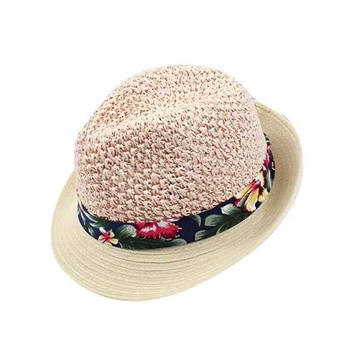 Hombres Y Mujeres De Primavera Y Verano Nuevo Sombrero del Sombrero De Paja  Sombreros De Sun Beach Sombrero Caps b9cbf9d33f8