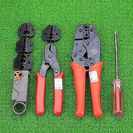 HT-330K Maletin Crimpar coaxial (Juego Crimpadoras) HT-330K: Amazon.es: Bricolaje y herramientas