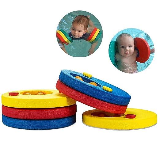 4 opinioni per Aitsite Dischi Galleggianti, Aiuto alla Galleggiabilita da Nuoto per Bambini (6