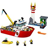 LEGO City Fire Boat (412 Piece)