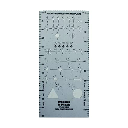 Amazon Weems Plath Chart Correction Template Sports Outdoors