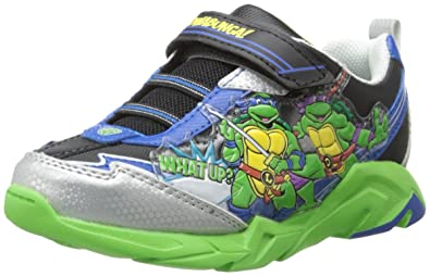 Nickelodeon TENAGE MUTANT NINJA TURTLES Toddler//Little Kid Light Up Shoes