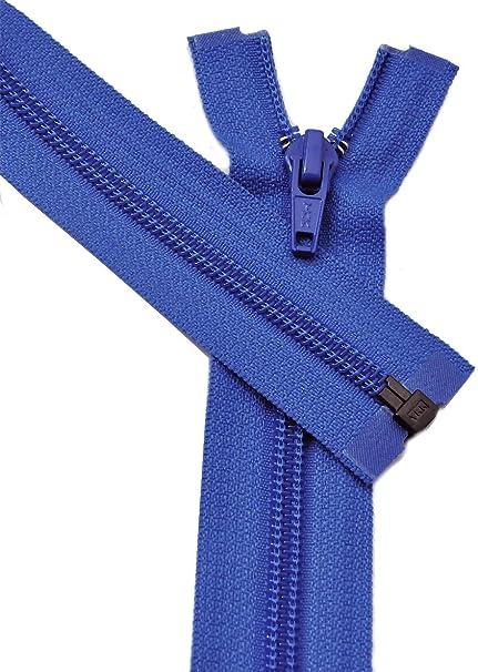 YKK # #5 5 Nylon Coil Separating Zipper 30 Light Weight Jacket Zippers-918 Pack of 1 918 Royal Blue