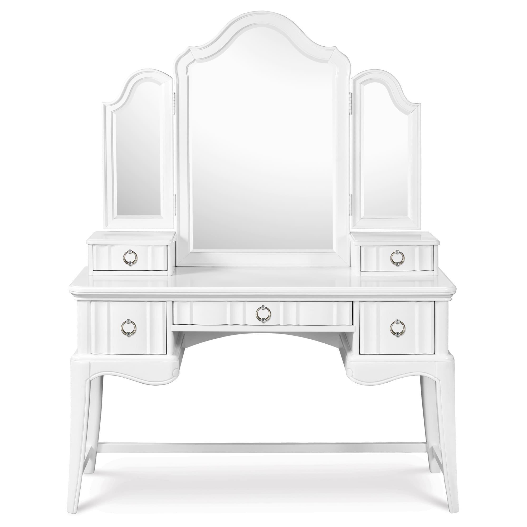 Gabrielle Vanity Tri-Fold Mirror by Magnussen Furniture