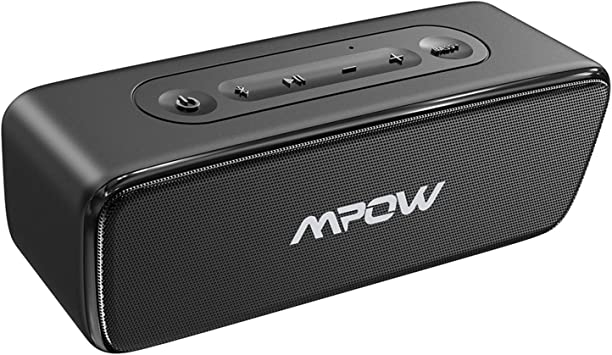 Mpow SoundHot R8 Bluetooth Speaker, IPX8 Waterproof Bluetooth Speaker with  Bass+ & Hi-Fi Stereo, Portable Wireless Speaker with 8H Playtime, Wireless