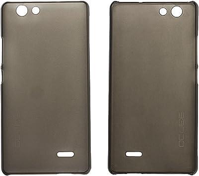 Guran® Plástico Hard Funda Cascara para Oukitel C4 Smartphone Bumper PC Case Cover-gris: Amazon.es: Electrónica