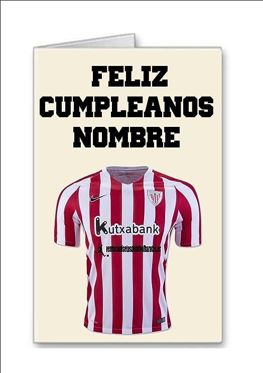 Tarjeta de cumpleaños del equipo de fútbol de Athletic ...