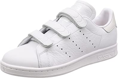 Adidas Stan Smith Leather Casual Hook-and-Loop Sneakers Youth Trainers