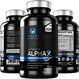 Ultimate AlphaX Male Enhancing Pills- Super Strength Enlargement Booster For Men- Professional Grade All Natural Vegan Supple