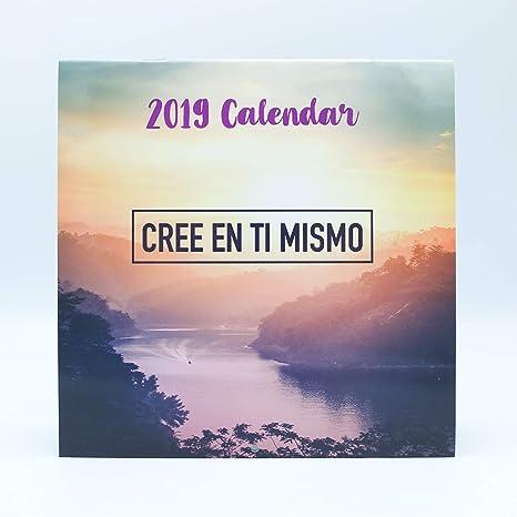 Calendario In Spagnolo.Calendario Da Parete Frasi In Spagnolo 2019 Marca Edicards