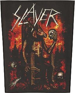 Slayer Men's Devil On Throne Back Patch Black